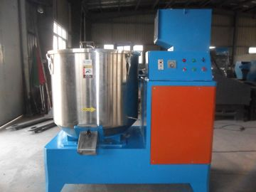 Industrial Pellets Plastic Mixer Machine , Food Powder Mixing Machine Vertical Structure
