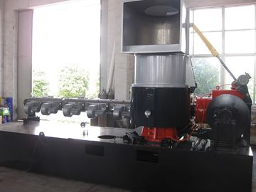 Water Ring Pellets Plastic Recycling Production Line , PP Recycling Machine Plastic Film Compactor