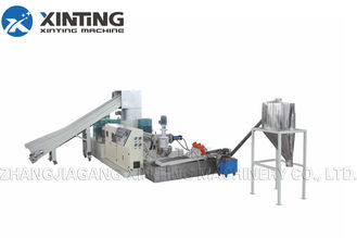 PE Single Stage Plastic Recycling Granulator Machine Compact Making Pellet Equipment