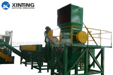 Automactic PP Plastic Recycling Machine , Plastic Film Recycling Machine