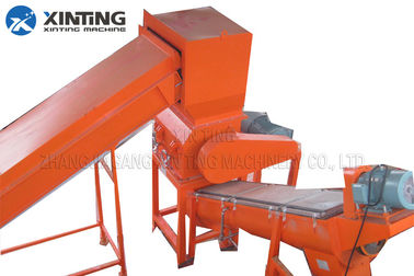 PP PE PS PA Material HDPE Recycling Machine Crushing Cold / Hot Washing Line