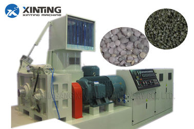 Waste Plastic Recycling Granulator Machine PP PE Packing Film Compacting Pelletizing