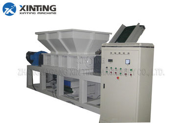 China Pp Pe Film Double Shaft Shredder Machine supplier