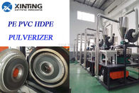 China Durable Plastic Pulveriser Machine With Pulse Dust Collector For Pvc Pipe And Pvc Sheet factory