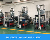 PE PP PVC Pulverizer Machine For Powder , Mini Pulveriser Machine Disk Type