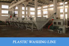 Europe Design Plastic Recycling Equipment HDPE / LDPE / PP Film And Sack Washing