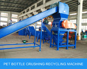 Mineral Bottle / Post Consumer Bottle Pet Bottle Washing Recycling Line Big Capacity