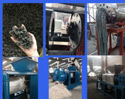 Pe Pp Screw Press Plastic Recycling Plant Dryer Plastic Film Dewatering Extruder Machine