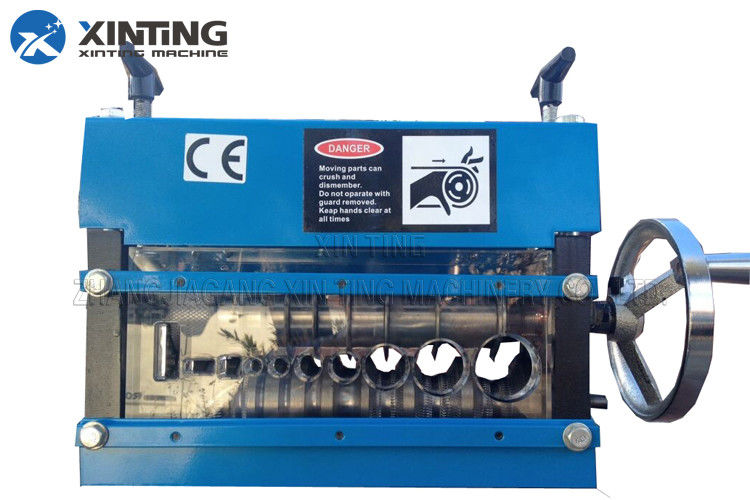 Automatic Plastic Recycling Machine Cable Wire Stripping Equipment ...