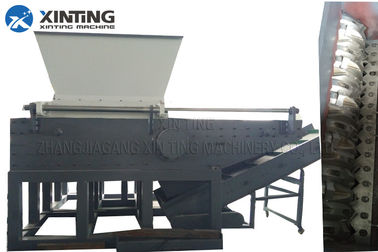 Solid Waste Shredder Machine In Single Shaft