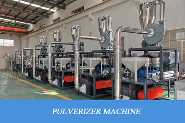 China Higher Output Plastic Grinding Pvc Pulverizer Machine Energy - Saving distributor